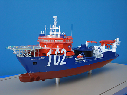 Cable Laying vessel Model