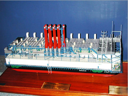 Power Plant Vessel Model