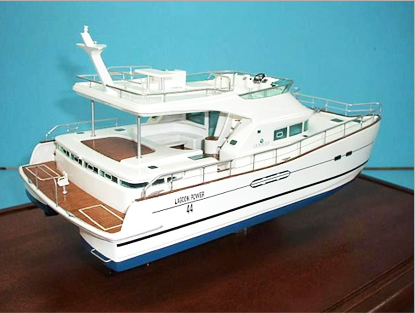 Yatch Ship Model