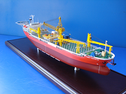 Carrier Ship model